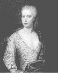 Brm.3. Anna Lucie von Meyerfeld (1697-1724) gehuwd met Jobst Friedrich Voigt (1681-1755)
