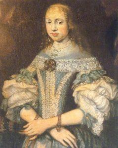 SSM.1. Hortensia von Salis-Maienfeld (1659-1715) geh. Gugelberg von Moos