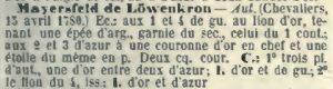 """J.B. Rietstap, """"Armour Général précédé dún dictionaire des termes du blason"""", Gouda 1884-1887."""