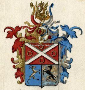 AT-OeStA/AVA Adel RAA 268.21, Meyer, Wilhelm Ludwig, Adelsstand, 'von Meyerfeld', privilegium denominandi, Lehenberechtigung, 3/15/1757, Artist: -